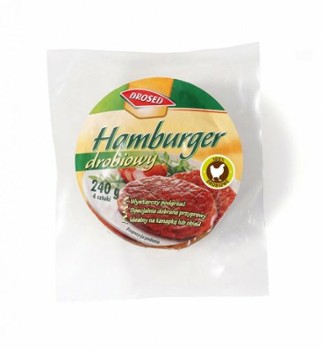 Hamburger drobiowy 240g DROSED