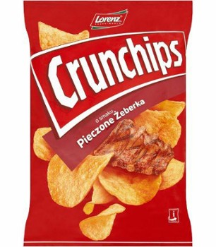 Chipsy piecz/żeberka 140g Crunchips