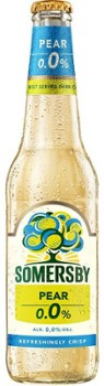 Piwo Somersby 0,0% pear but. 0,4 l