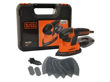 Black&Decker Szlifierka MOUSE KA2500K-QS 120W