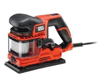 BLACK&DECKER SZLIFIERKA OSCYL. KA330E
