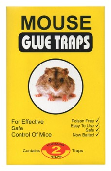 Mouse glue traps 2szt