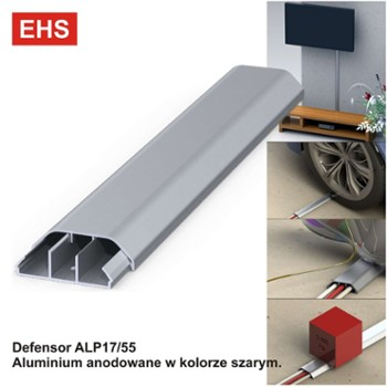 Defensor ALP17/55  Szary L=1000