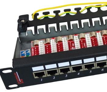 Patch Panel  FTP 24 Porty kat.5e   PL