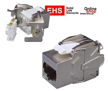 Gniazdo komp. FTP RJ45 kat.6 Toolless
