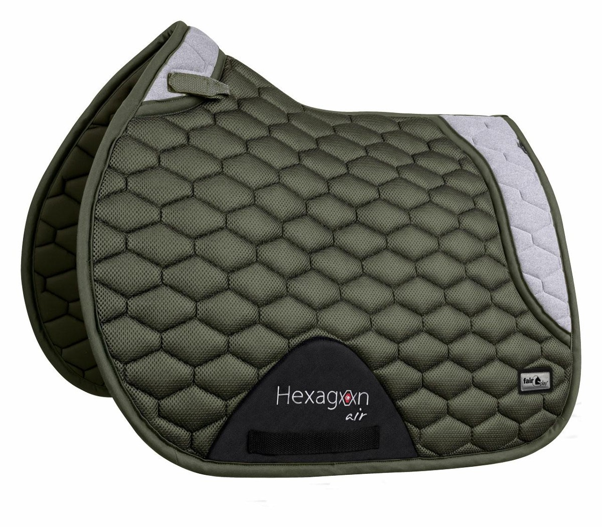 Czaprak FP HEXAGON AIR MESH oliw-sza VS
