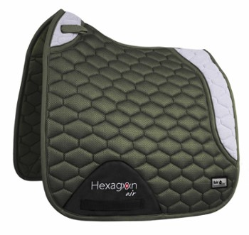 Czaprak FP HEXAGON AIR MESH oliw-sza DRE
