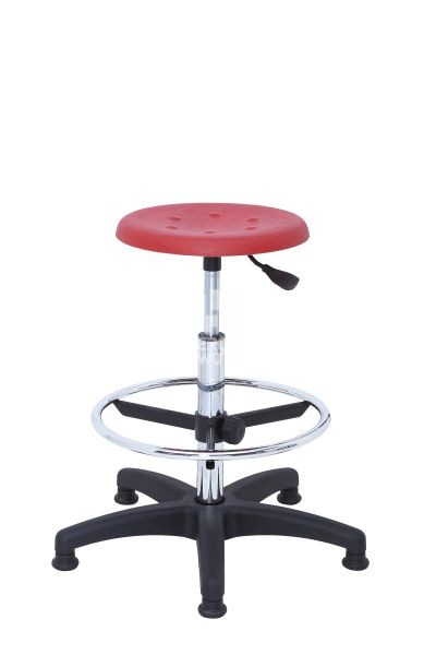 ERGOWORK POLO Special CH Red stool