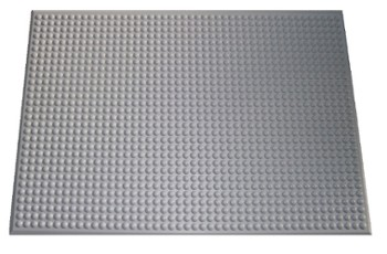 Standing Floor Mats - ergonomic mat for industry light grey