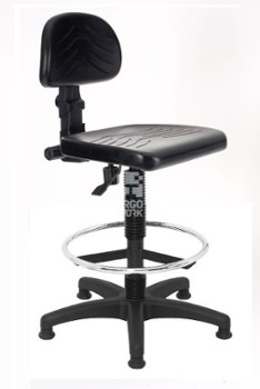 ERGOWORK PL Special BLCPT Black chair
