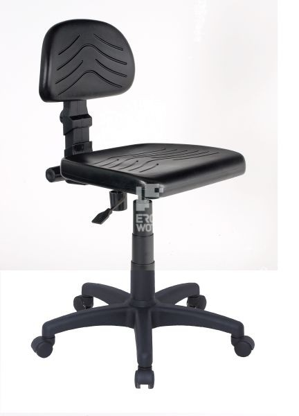 ERGOWORK PL Standard BLCPT Black chair
