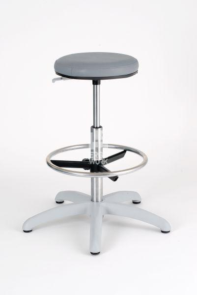 ERGOWORK LABO 4 Special CH Grey stool