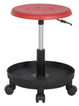 POLO TOOL Stool Standard Red