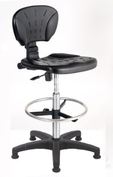 ERGOWORK LK Special CHCPT Black chair