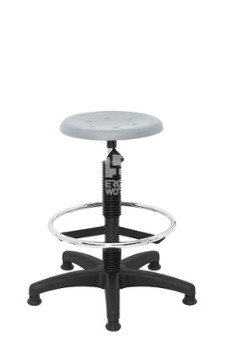 ERGOWORK POLO Special BL Grey stool