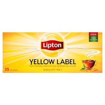 HERBATA LIPTON YELLOW LABEL CZARNA 50g