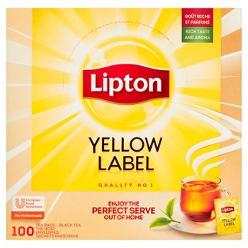 HERBATA LIPTON YELLOW LABEL CZARNA 180g