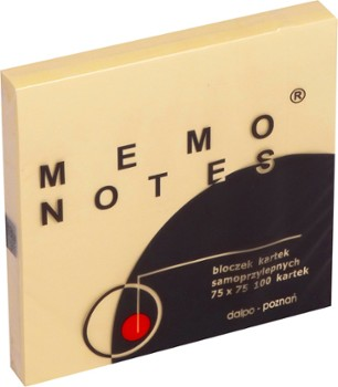 NOTES SAMOP. DALPO 75x75 100 kartek