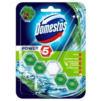DOMESTOS WC Kulki 55g Power Pine (9)