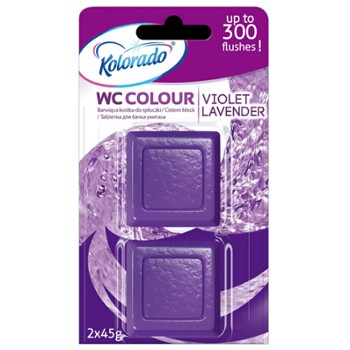 KOLORADO Kostka WC Colour Lavender (24)