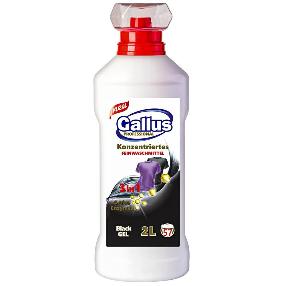 GALLUS Żel do pr. 2L 3w1 Black (6)