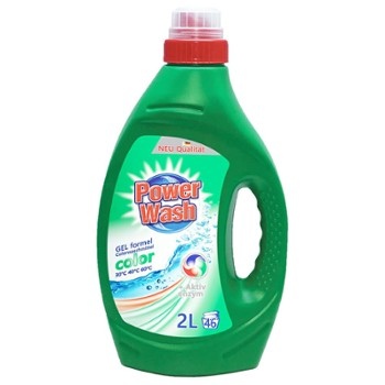 POWER WASH Żel do pr. 2L Color (6)
