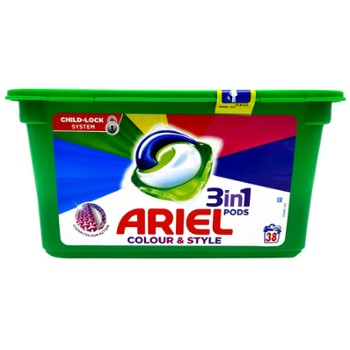 ARIEL Kaps. do pr. 38szt. Color (3)