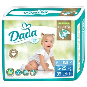 DADA Extra Soft Junior Pieluchy 5(39)(4)