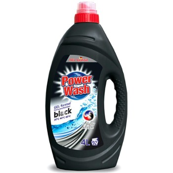POWER WASH Żel do pr. 4L Black (4)