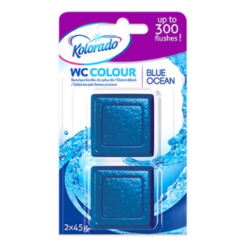 KOLORADO Kostka Wc Colour Blue Ocean(24)