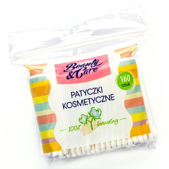BEAUTY AND CARE Patyczki kosm.160szt(36)