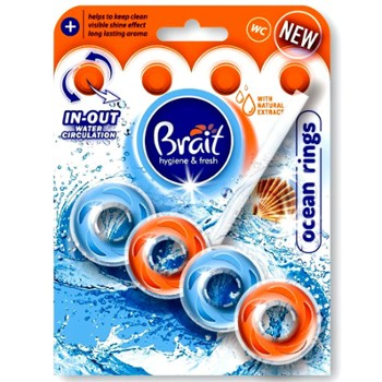 BRAIT Kostka do WC 40g Rings Ocean (12)