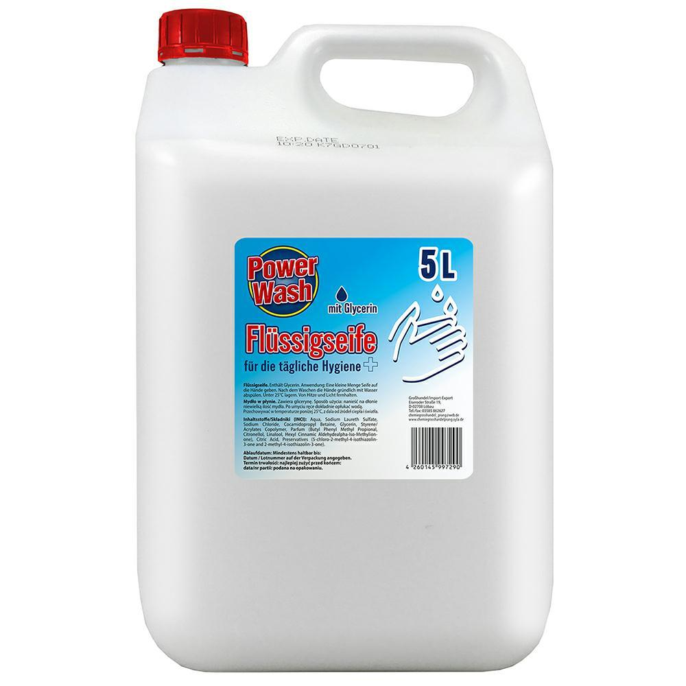 POWER WASH Mydło w pł. 5L Flussigseife
