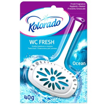 KOLORADO Kostka Wc Fresh 40g Ocean (24)