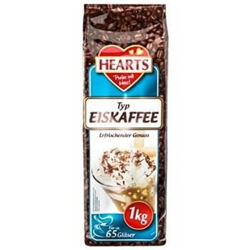 HEARTS Cappucino Ice Coffee 1kg (10)