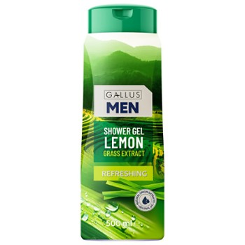 GALLUS Żel pod pr. 500ml Lemon Grass(12)