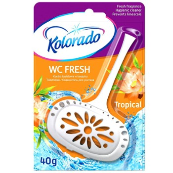 KOLORADO Kostka Wc Fresh 40g Tropical(24