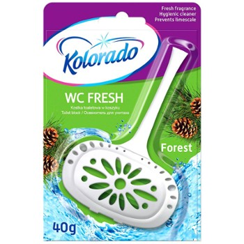 KOLORADO Kostka Wc Fresh 40g Forest (24)
