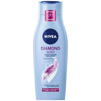 NIVEA Szampon do wł.400ml Diamond Gl(12)