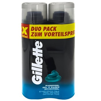 GILLETTE Żel do gol. DUOPACK 2x200ml (6)