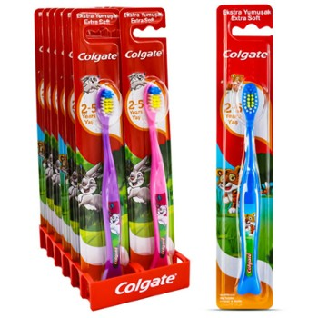 COLGATE Szczot. do zęb. Kids 2+ (12)