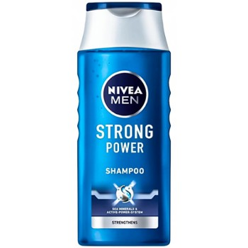 NIVEA Szampon do wł.400ml Men Strong(12)