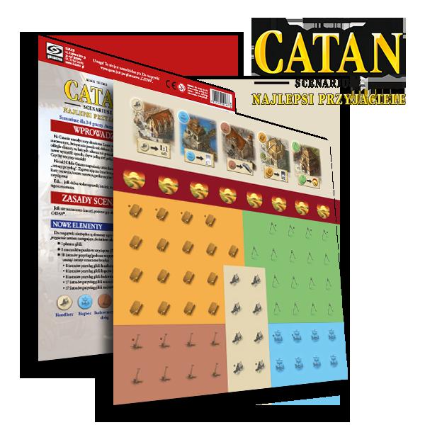 Catan - Scenariusz: Najlepsi Przyjaciele