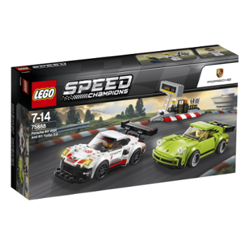 LEGO Speed 75888 Porsche 911 RSR i 911 Turbo