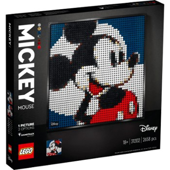 LEGO Art 31202 Disney`s Mickey Mouse V29