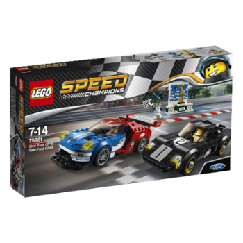 LEGO Speed 75881 Ford GT z roku 2016 i Ford G
