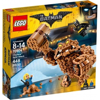 Lego Batman Movie 70904 Atak Clayface
