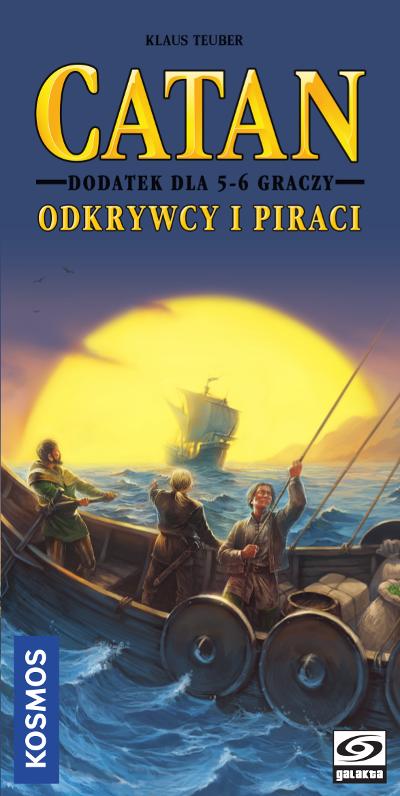 Catan - Odkrywcy i Piraci - dodatek 5-6 graczy