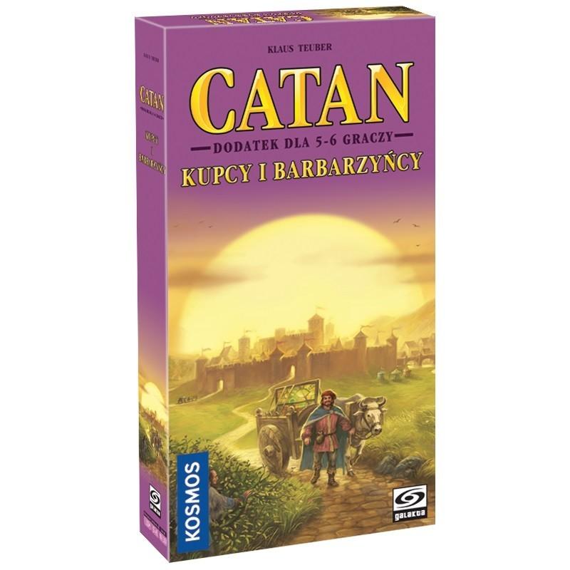 Catan - Kupcy i Barbarzyńcy - dod. 5-6 graczy