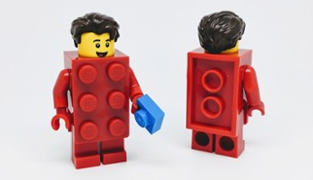 Lego Minifigurki 71021-2 Brick Suit Guy